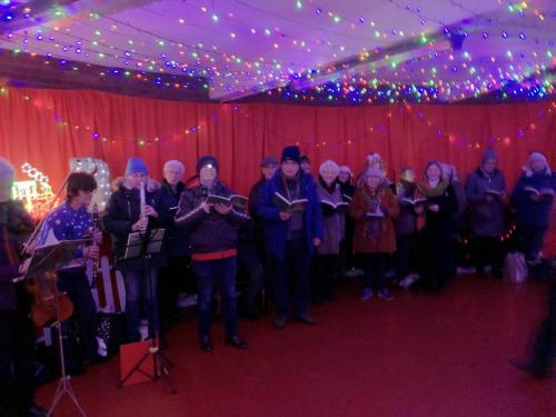 RCSCO Carols at Bury Railway Station 1 copy