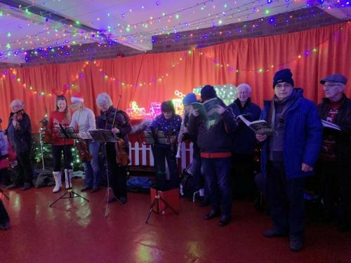 RCSCO Carols at Bury Railway Station 2