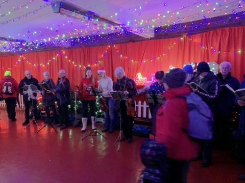 RCSCO Carols at Bury Railway Station 3